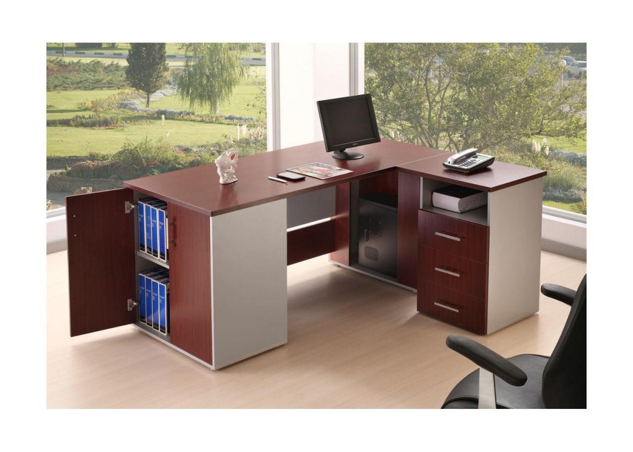 میز اداری کارشناسی و کارمندی جوان مدل توسکا
